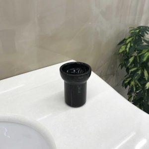 CLASSICI C1488/1B стакан керамика/чёрный