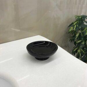 CLASSICI C1487/1B мыльница керамика/чёрная