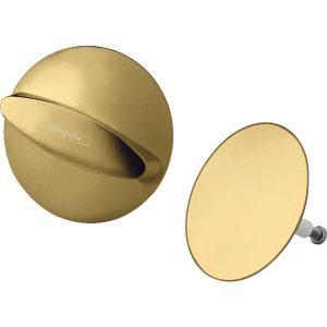 Flexaplus 58185990 Внешняя часть набора для слива и перелива, полированное золото
