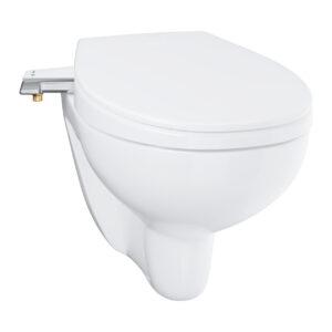 Bau Ceramic 39427000 Унитаз подвесной с сиденьем-биде, с ручным управлением, белый глянцевый