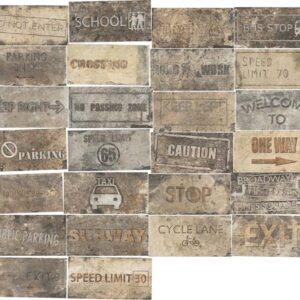 Road Signs Mix Broadway 10*20 (1048421)