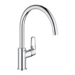 Bau Flow 31230001 Кухонный смеситель однорычажный, 207 мм, 1jet, хром