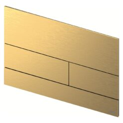 TECEsquare II 9240838 Панель смыва, золотая матовая